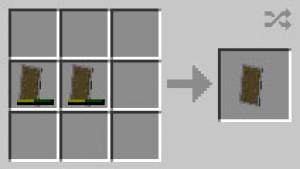как покрасить щит в майнкрафте 1.9 #5